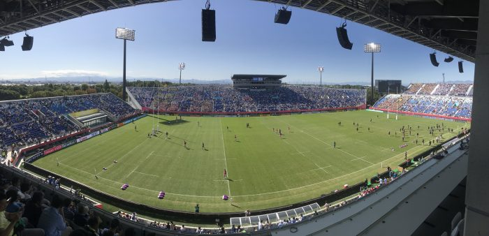 kumagaya rugby stadium 700x338 - Attending the Rugby World Cup 2019 in Japan - USA vs Argentina