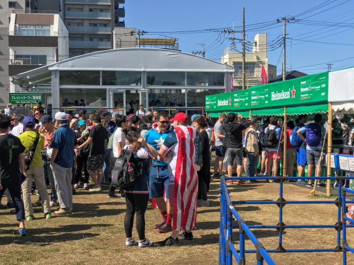 rugby world cup fanzone kumagaya 700x525 - Attending the Rugby World Cup 2019 in Japan - USA vs Argentina