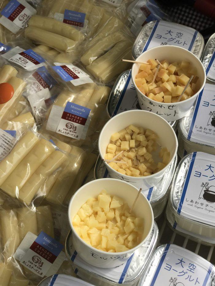 hokkaido food fair cheese 700x933 - A visit to the Hokkaido Food Fair in Tokyo, Japan