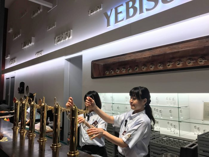 museum of yebisu beer tokyo tasting room 700x525 - A visit to the Museum of Yebisu Beer in Tokyo, Japan