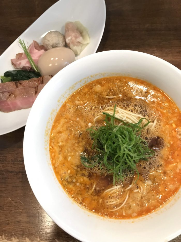 nakiryu michelin star ramen tokyo tantanmen broth noodles 700x933 - A visit to Nakiryu - Michelin-starred ramen in Tokyo, Japan