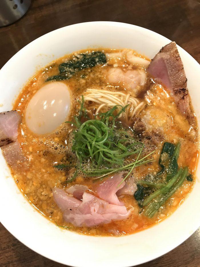 nakiryu michelin star ramen tokyo tantanmen ramen 700x933 - A visit to Nakiryu - Michelin-starred ramen in Tokyo, Japan