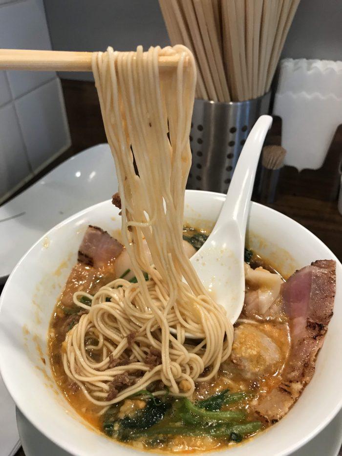 nakiryu michelin star ramen tokyo tantanmen ramen noodles 700x933 - A visit to Nakiryu - Michelin-starred ramen in Tokyo, Japan