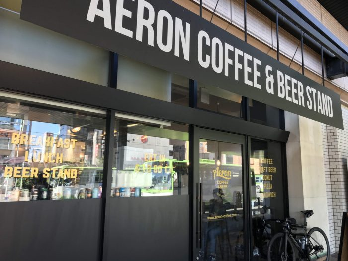 craft beer in morioka aeron coffee beer stand 700x525 - The best craft beer in Morioka, Japan