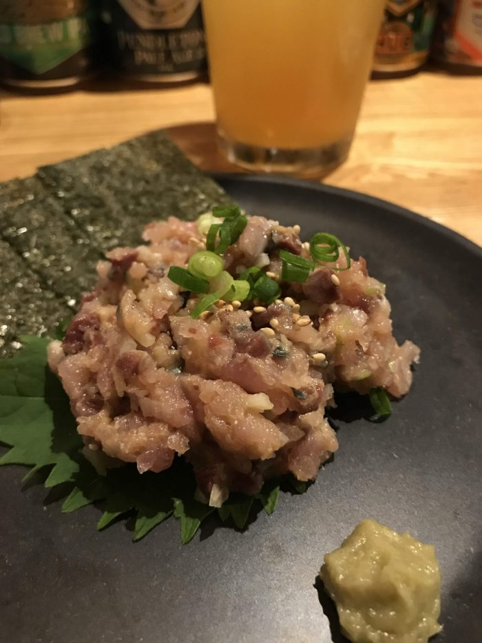 craft beer in morioka aeron standard local fishermans tartare 700x933 - The best craft beer in Morioka, Japan