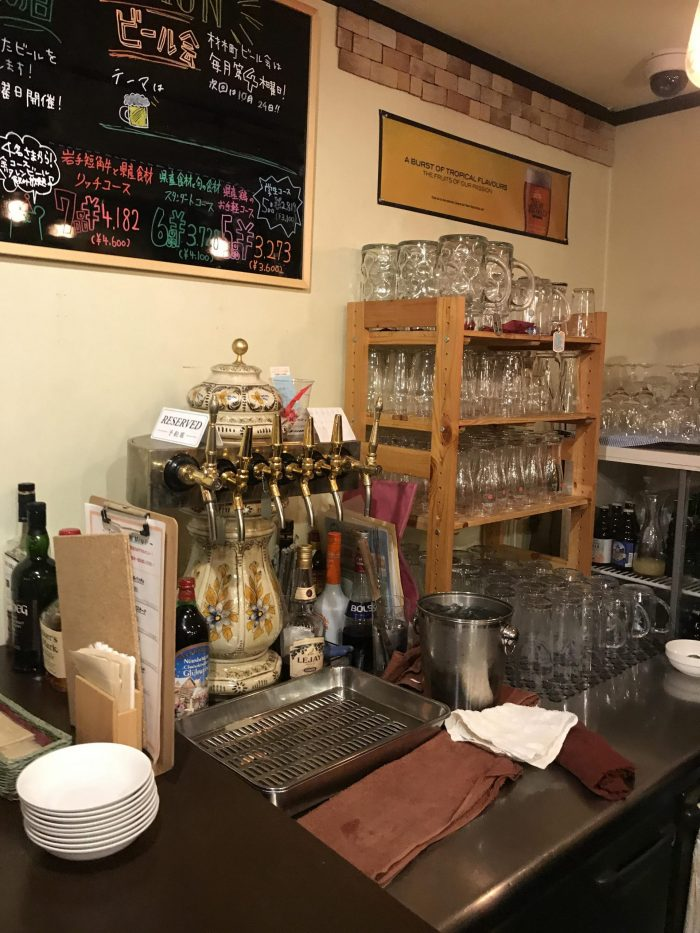 craft beer in morioka baeren bar 700x933 - The best craft beer in Morioka, Japan