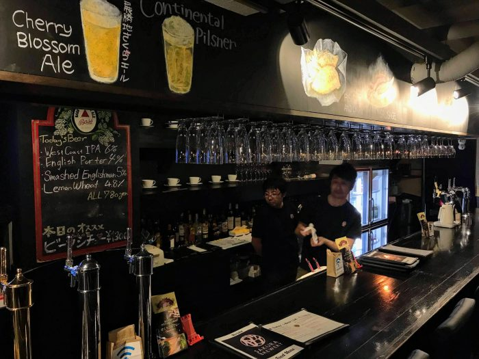 craft beer in morioka sakura bar 700x525 - The best craft beer in Morioka, Japan