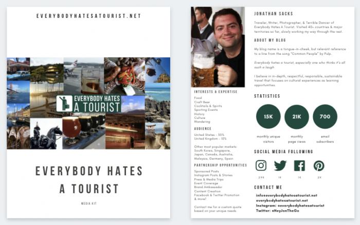 everybody hates a tourist media kit 700x439 - Media Kit