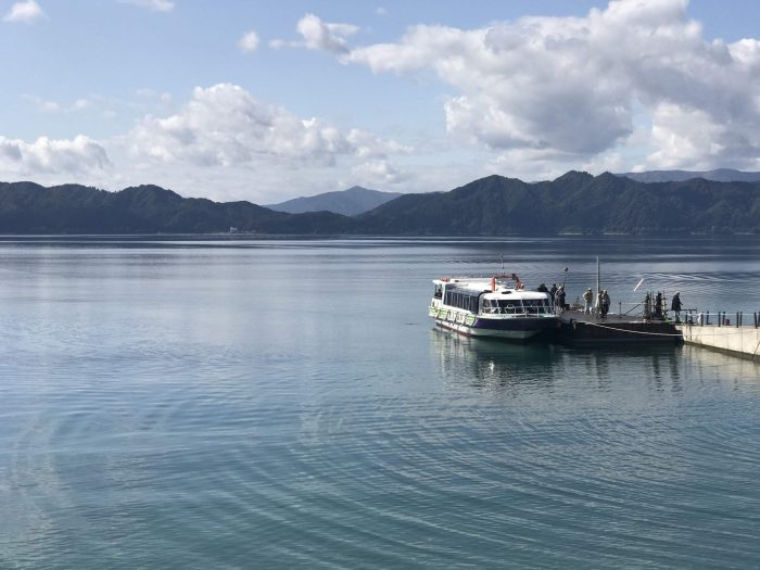 lake tazawa boat cruise tour 700x525 - A day trip from Morioka to Lake Tazawa, Japan