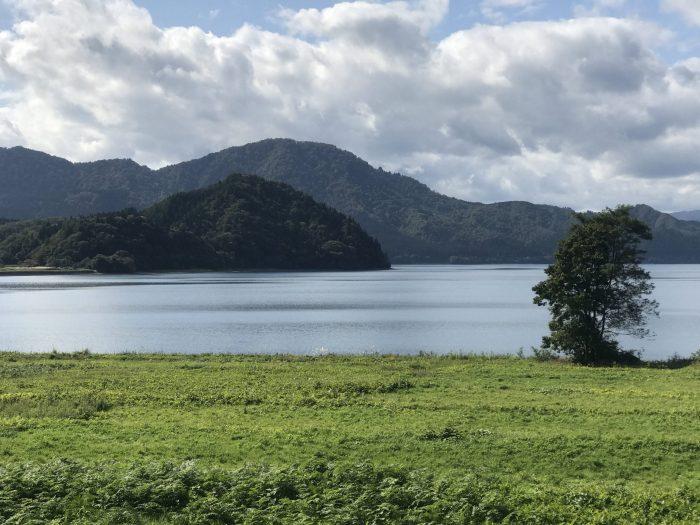 lake tazawa farm 700x525 - A day trip from Morioka to Lake Tazawa, Japan
