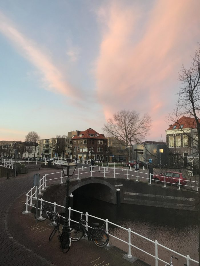 leiden sunset 700x933 - My month so far