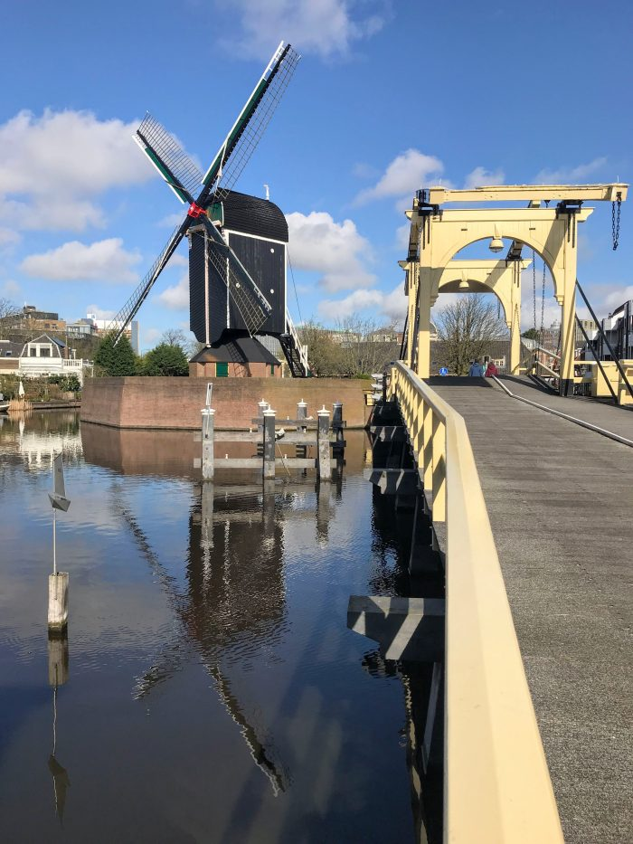 leiden windmill bridge 700x933 - My month so far