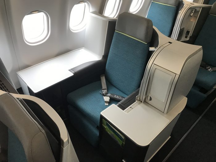 aer lingus business class throne seat 1 700x525 - My next month so far