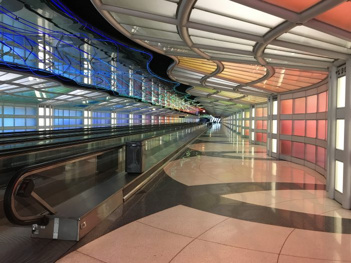 empty chicago ohare airport 1 700x525 - My next month so far