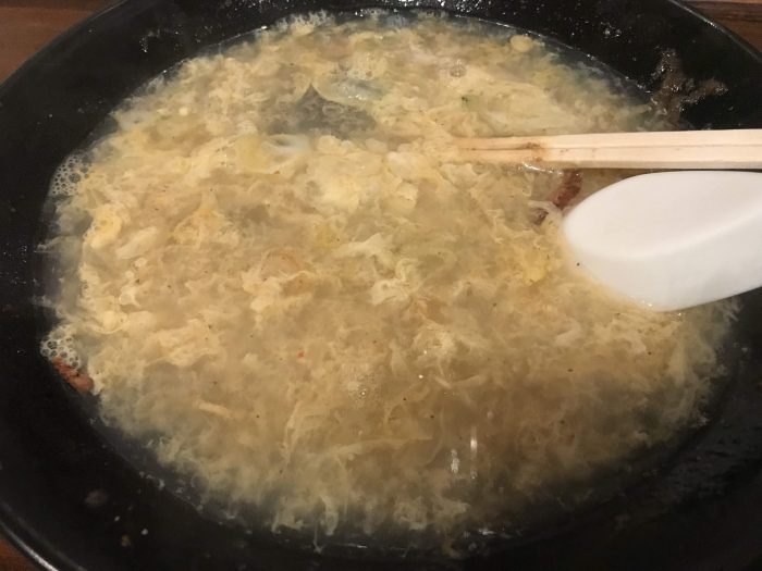 jajamen chitantan egg soup 700x525 - The Three Great Noodles of Morioka, Japan