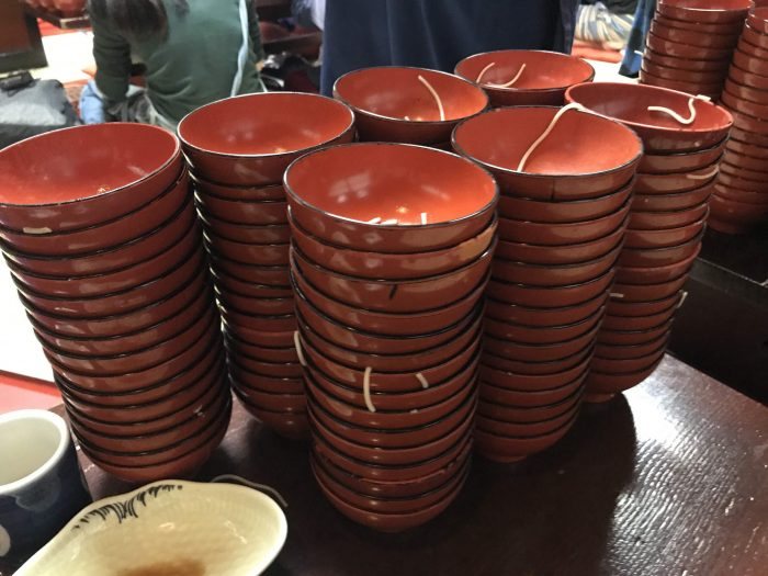 wanko soba bowls 700x525 - The Three Great Noodles of Morioka, Japan