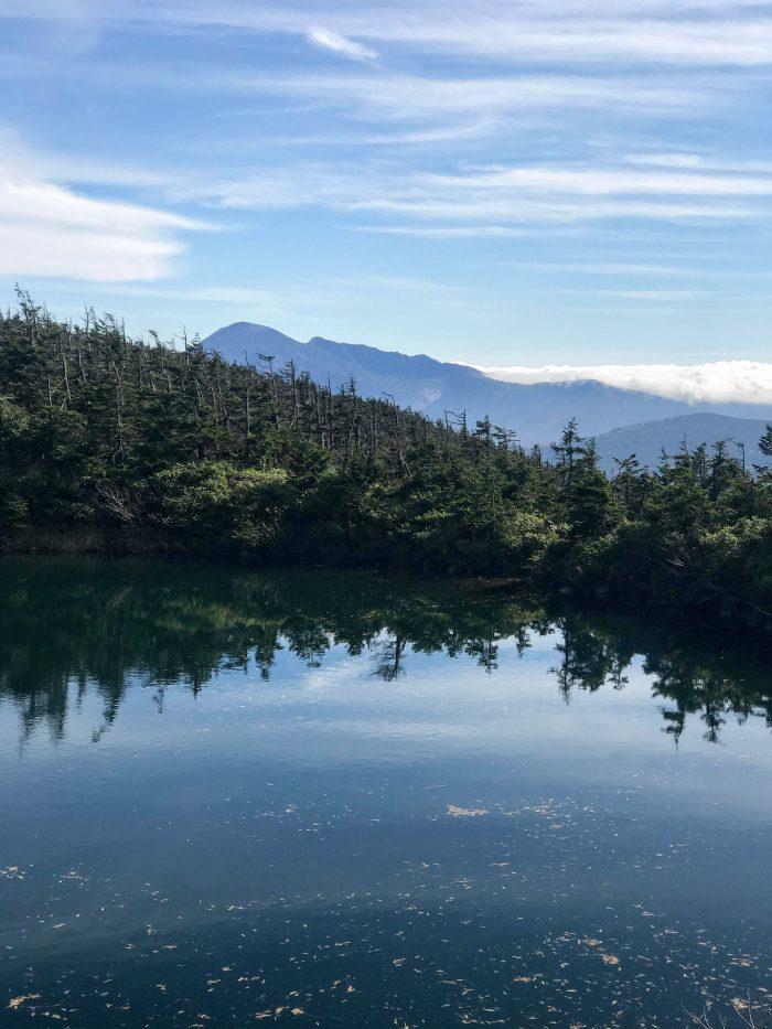 kagaminuma mount iwate hachimantai 1 700x933 - A day trip from Morioka to Hachimantai National Park, Japan