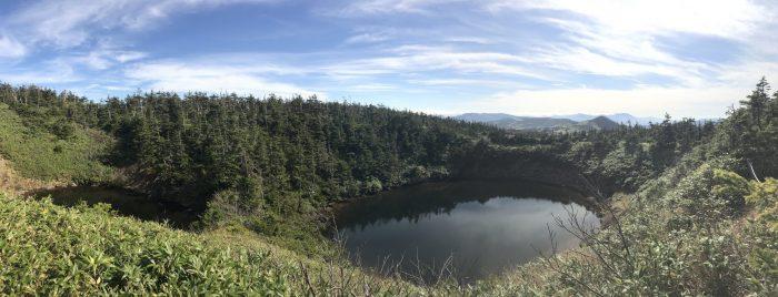 meganenuma glasses lake hachimantai 700x268 - A day trip from Morioka to Hachimantai National Park, Japan
