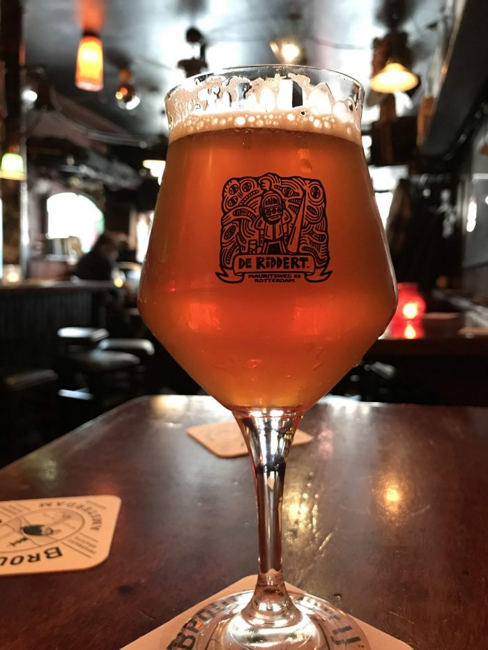 proeflokaal de riddert craft beer rotterdam 700x933 - The best craft beer in Rotterdam, Netherlands