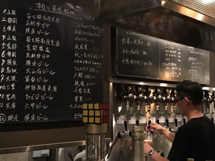 living craft beer bar yokohama 700x525 - The best craft beer in Yokohama, Japan