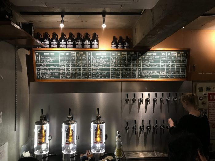 tap growler tokyo kitazawa craft beer 700x525 - The best craft beer in Tokyo, Japan