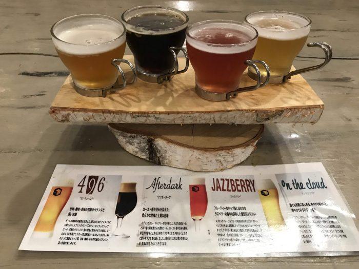 vitraux spring valley craft beer yuzawa flight 700x525 - The best craft beer in Yuzawa, Japan