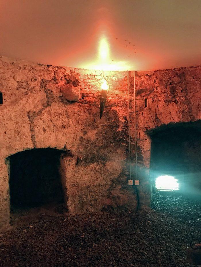 blackrock castle gunnery cargo corridor 700x933 - Blackrock Castle Observatory in Cork, Ireland