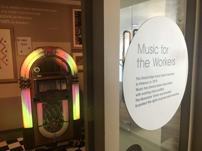 peoples history museum manchester music jukebox 700x525 - A visit to the People's History Museum in Manchester, England