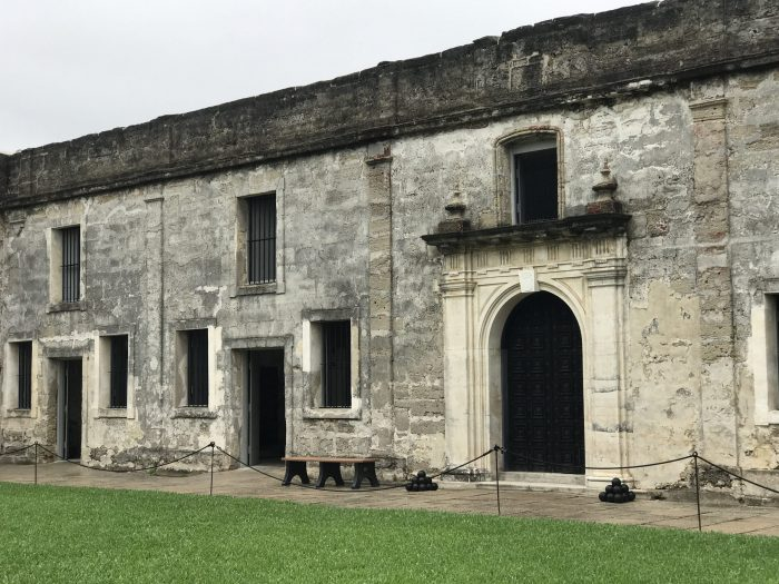 st augustine itinerary castillo de san marcos 700x525 - A weekend trip to St. Augustine, Florida