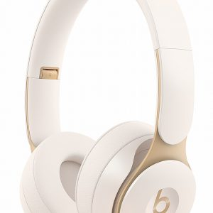 Beats By Dr. Dre Solo Pro Ivory Wireless Noise Cancelling On-Ear Headphones