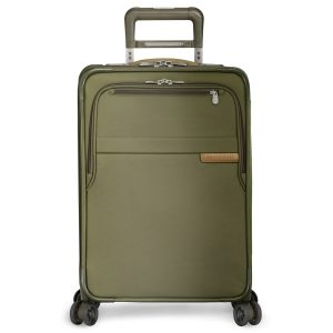 Briggs & Riley Olive Domestic Carry-On Expandable Spinner