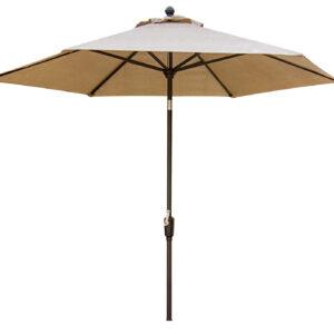 Hanover Traditions Natural Oat 11 Ft. Table Umbrella