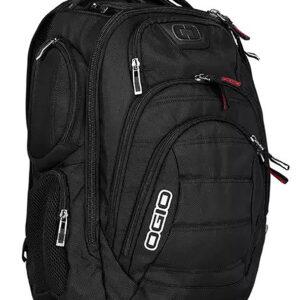 Ogio Gambit Black Laptop Backpack
