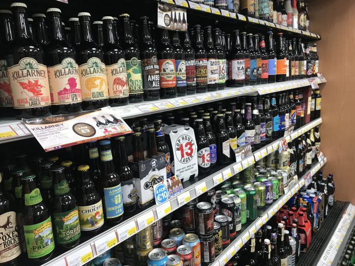 carry out off license craft beer killarney 700x525 - The best craft beer in Killarney, Ireland