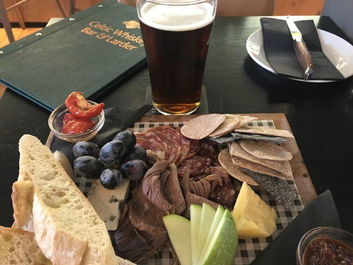 celtic whiskey bar larder killarney cheese charcuterie beer 700x525 - The best craft beer in Killarney, Ireland