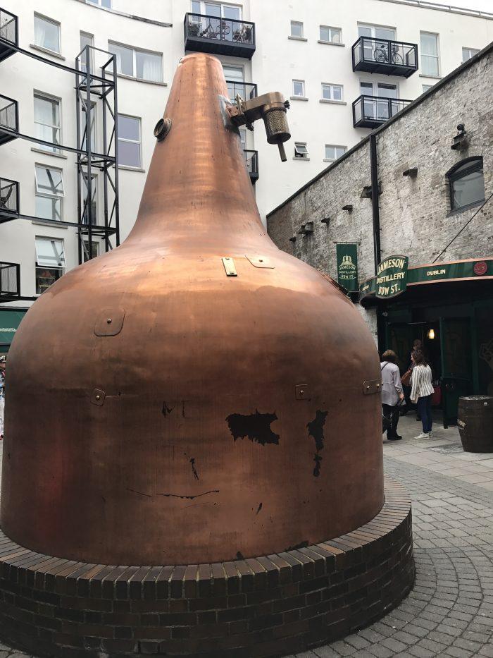 jameson distillery dublin copper still 700x933 - Jameson Distillery tour & tasting in Dublin, Ireland