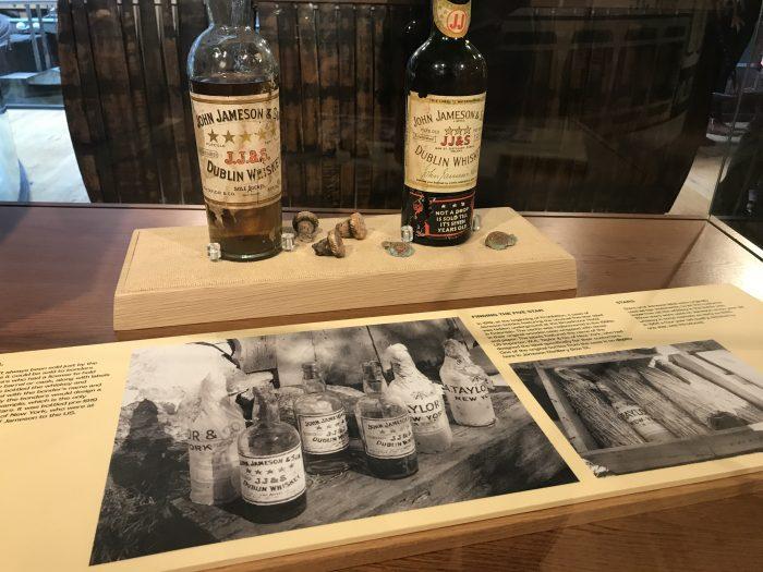 jameson distillery history bottles 700x525 - Jameson Distillery tour & tasting in Dublin, Ireland
