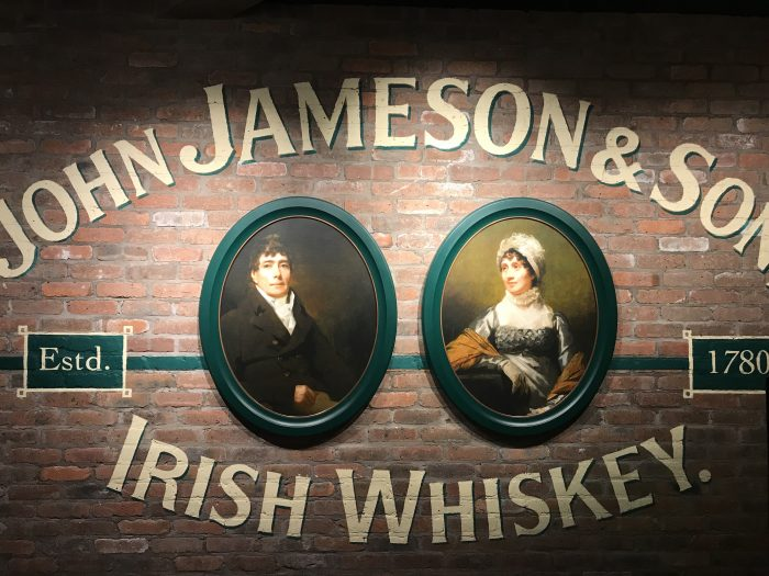 jameson distillery tour history entrance 700x525 - Jameson Distillery tour & tasting in Dublin, Ireland