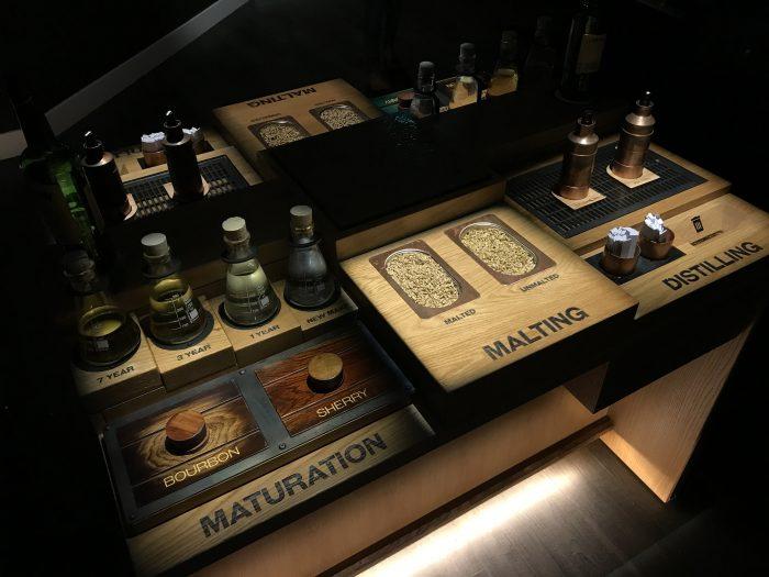 jameson distillery tour whiskey making samples 700x525 - Jameson Distillery tour & tasting in Dublin, Ireland