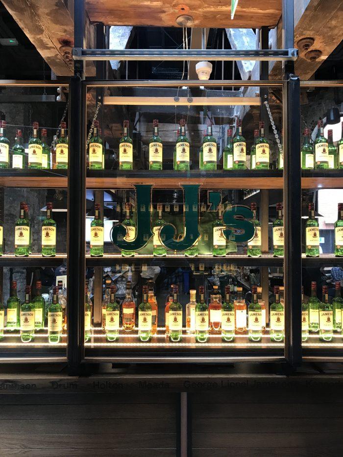 jjs bar jameson distillery tour dublin 700x933 - Jameson Distillery tour & tasting in Dublin, Ireland