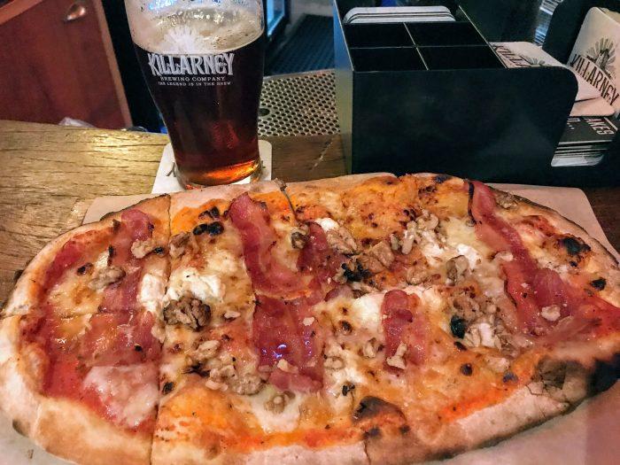killarney brewing company craft beer pizza 700x525 - The best craft beer in Killarney, Ireland