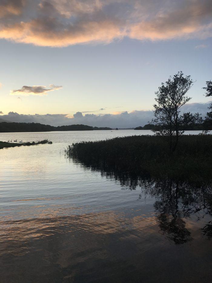 lough leane sunset 700x933 - Ross Castle & Ross Island in Killarney, Ireland