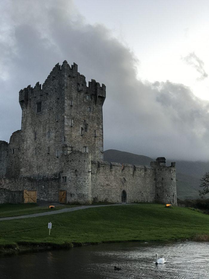 ross castle killarney ireland 700x933 - Ross Castle & Ross Island in Killarney, Ireland