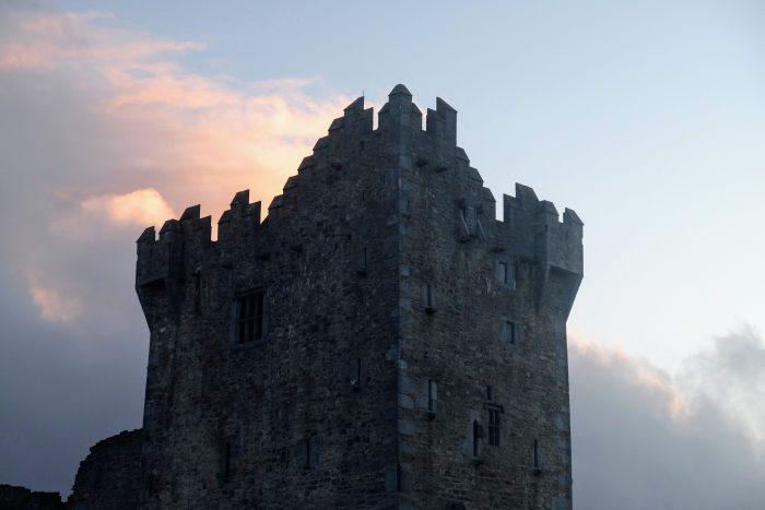 ross castle tower 700x467 - Ross Castle & Ross Island in Killarney, Ireland