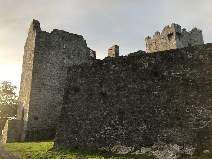 ross castle walls 700x525 - Ross Castle & Ross Island in Killarney, Ireland