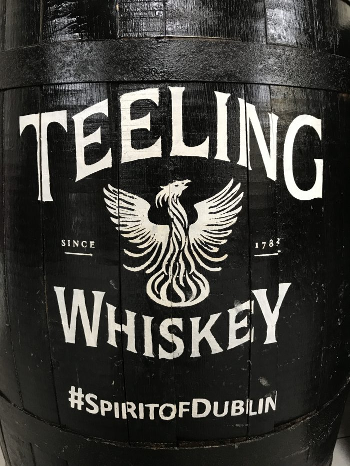 teeling whiskey barrel 700x933 - Teeling Distillery tour & tasting in Dublin, Ireland