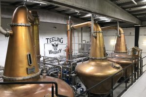 teeling whiskey distillery tour copper pot stills 300x200 - Teeling Distillery tour & tasting in Dublin, Ireland