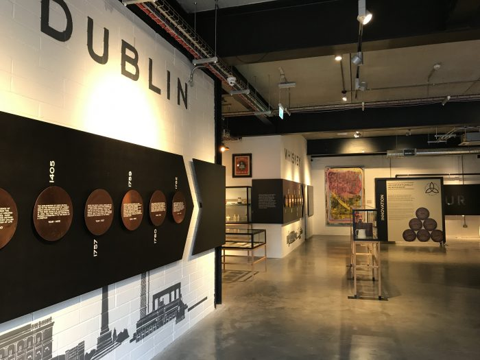 teeling whiskey history tour 700x525 - Teeling Distillery tour & tasting in Dublin, Ireland