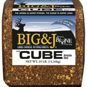 Big & J BB2 The Cube Deer Supplement Attraction Block