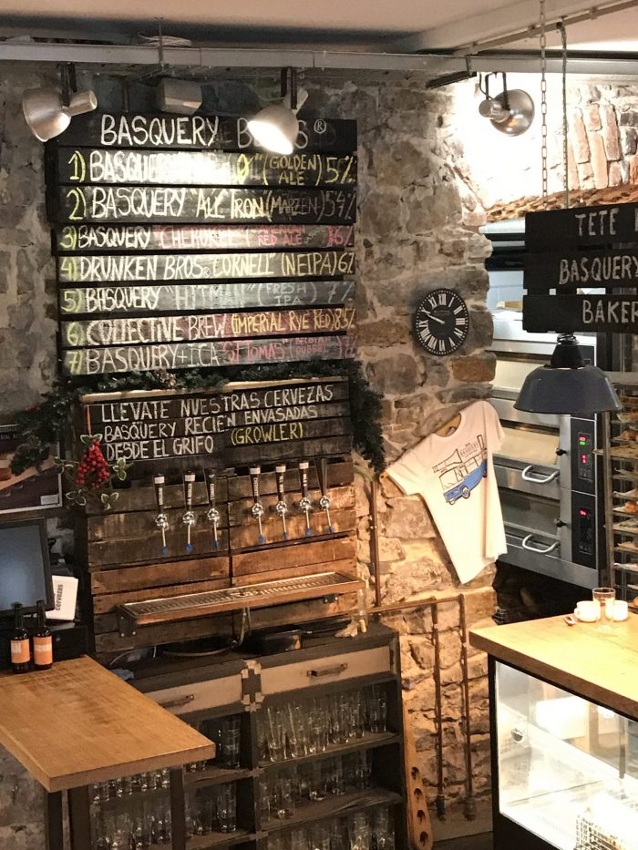 basquery craft beer bilbao 700x933 - 4 great places for craft beer in Bilbao, Spain